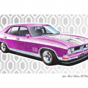 MOVO Design Group - Ford gift ideas Falcon GT 351 Mulberry