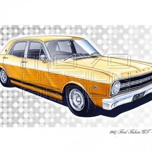 MOVO Design Group - Ford Falcon XR GT