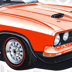 XB Falcon Sedan Prints